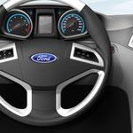 Lenkrad und Armaturentafel für Ford Fiesta / TRW AUTOMOTIVE (D)