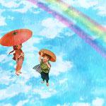 6月 虹と天気雨/2015