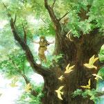 5月 風ささめく森/2015