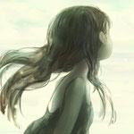 白い海/2012(第7回ペンタブレットdeアート投稿コンテスト 銅賞)