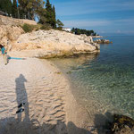 Unser Traumstrand in Rabac