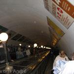 Moskauer U-Bahnhof