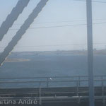 Brücke über den Jenissei