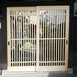 門格子 木製建具