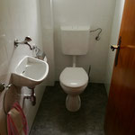 Neu renoviertes WC