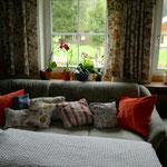Ausblick vom Sofa