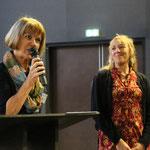 Martine Lavaud et Martine Palmer, cérémonie d'ouverture