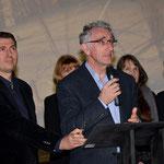 Monsieur Jean-Jacques Eroles, maire de La Teste, cérémonie de clôture