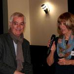 Monsieur Lummeaux et Martine Lavaud, ouverture au casino d'Arcachon