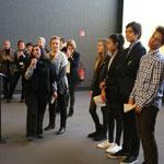 L'équipe de Ciné Sans Frontières et le jury Jeunes, Cérémonie de Clôture