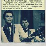 JACK & WOODY - Jack de Nijs en Cor van Leest. Muziek Parade januari 1961 (