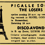 THE LOSERS - Pgalle Soos, Hotel Goderie, Roosendaal 20 november 1966