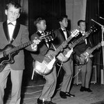 THE BABY ROCKERS (dec. 1963) - vlnr: René Waerts, George Loth, Albert Loth en Jan Renken.