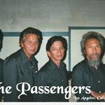 THE PASSENGERS vlnr: Eddy Vrede (drums) - Humphrey van Hek (bas gt.) - Humphrey Mariën (keyb.) - Richard Mariën (solo gt.)
