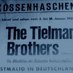 The Tielman Brothers - Kossenhaschen Mannheim (jan. 1959)
