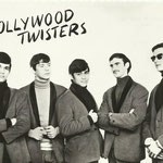 THE HOLLYWOOD TWISTERS vlnr: Hans de Munck, Cel de Cauwer (drums), Rudy de Munck, Tony ? en  René Vandergucht