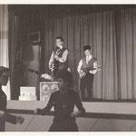THE BLACK HUNTERS 1962 vlnr: Gerard de Boer, Jimmy Kalff en Jeffrey Sijmens