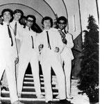 THE RESIDENTS 1967-1969 vlnr: Woody Brunings - Jack van Rossum - Pim Veeren - Henny Heutink - Wout Janse