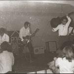 THE ROYAL ROCKERS in club PJS, Vondelpark, Amsterdam - vlnr: Johnny Beck - Raymond Brugman - Ronny Neyndorff - Richard van Leeuwen - Ronny Scheffman
