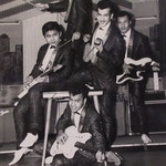 THE HOT STRINGS in de Kaskade, Keulen 1962