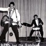 JACK DENS & THE SWALLOWS (1961) vlnr: Nico Takarindingan - Jack de Nijs - Henk Voorheyen - Gerrit 'Nono'Gillet