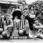 THE BABY ROCKERS (1965) - vlnr: Jan Renken, Ger Motshagen, René Waerts en Nico Engels