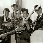 THE SAVAGES ca. 1962 vlnr: Rob Albinus, Piet Danse, Kaz Lux, Ab Eerkens, Gerard Raams,  Victor Storm van 's Gravenzande.