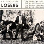 THE LOSERS 1966 vlnr: Will Masius - Emile Schwarz - Jack de Nijs -Loek Basiaans - Henk Voorheyen