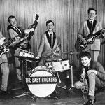 THE BABY ROCKERS (1964) - vlnr: René Waerts, Henk Dekker, Rein Vreeling, Jan Renken en Jacky Kloes.