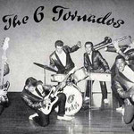 THE 6 TORNADOS vlnr: John Polascor- Hans Bürck - Freddy Hessenauer - Kurt Büch - Rolf Bothe - Jimmy James