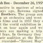 The Cash Box - 26 december 1959