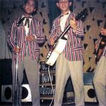 Foto gemaakt tijdens een van hun optredens in Paviljoen Plaswijck, Rotterdam-Hillegersberg (1960)