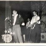 THE RHYTHM GAMBLERS 1960 vlnr: Rudie ? Hoevenaar - Richard Blanken - Loek Nicolai - Bob Lammers - Ed Christoffel