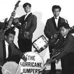 THE HURRICANE JUMPERS vlnr staand: Tonny Key - James de Groen - Tom Persijn voor geknield: Rob Simons - Ben Sigarlaki