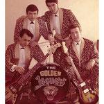 THE GOLDEN JAGUARS 1965 - vlnr: Reinoud Bish, Peter Axt, Peter Hulscher en Jan Bijl