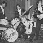 The Royal Teens 1962. Uiterst links bassist Andrei Serban