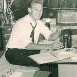 """René """"Nappie"""" van Vlasselaer manager van The Four Tielman Brothers."""