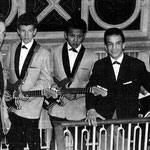 LITTLE REMY  & THE FLYING ROCKERS (Cosmopoliet, Den Bosch 1962) vlnr: Ad Boeren - Cees Vermeulen - Guus Silooy -  Remy Ramaekers - Rinus Huismans