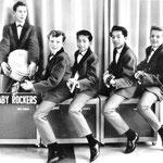 THE BABY ROCKERS (1963) - vlnr: Rein Vreeling, René Waerts, George Loth, Albert Loth en Jan Renken.