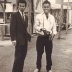 Andy Tielman en Edu Schalk - Expo 58 Brussel - Hawaiian Village