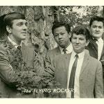 THE FLYING ROCKERS - vlnr: Jan de l'Or, Guus Silooy, Cees Vermeulen en Rinus Huismans.