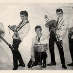 THE KELLIANS 1964 vlnr: Jimmy Kalff - Ronny Dumas - Bassy Overwater - Ronny Denkers - Theo Denkers