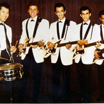The Tielman Brothers 1963 Alphonse Faverey on lead guitar in stead of Andy Tielman after his car accident