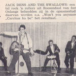 Jack Dens & The Swallows: Muziek Parade juli 1961