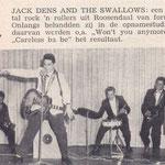 Jack Dens & The Swallows: Muziek Parade juli 1961