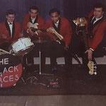 THE BLACK ACES (1961) vlnr: Kees Thomassen, Edu Wilten, Daan Nolten en Harry Noordhof