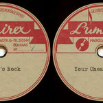 Lumirex (demo 1962) - Buddy's Rock / Your Cheatin' Heart