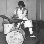 WINNIE D'ANCONA drumster van de RHYTHM GAMBLERS (fotocollectie: Bob Lammers)
