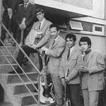 THE GARUDA'S (Roosendaal 1968) vlnr: Nico Douwes - Willy Tinga - John Graste - Boum Bletterman - Otto Tinga - Frans Hartsinck (Foto Walravens)