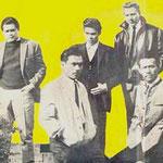 THE LOSERS 1965 vlnr: Jack de Nijs - Ruud Wenzel - Albert Valentijn - Henk Voorheyen - Will Masius
